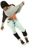 Piękna Seksowna Z nadwagą murzynka zdjęcia stock