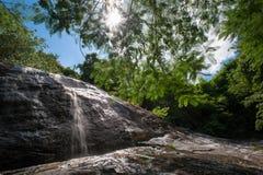 Piękna siklawa w chantaburi Asia gubernialnych południowych wschodach Asia Zdjęcia Royalty Free