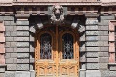 Piękna stara architektura, dom w Odessa zdjęcia stock
