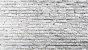 Piękna stara biała ściana z cegieł malujący biel ilustracji