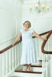 piękna starsza kobieta obraz royalty free