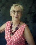 piękna starsza kobieta zdjęcia royalty free