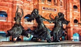 Piękna statua tanów ludzie obraz royalty free
