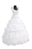 piękna sukienka ślub Zdjęcia Stock