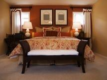 piękna sypialnia szczegół Obraz Royalty Free