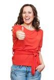 piękna szczęśliwa kobieta zdjęcia stock
