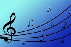 piękna tła musical Fotografia Royalty Free