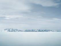 piękna tło zima Fotografia Royalty Free