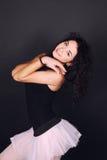 Piękna tancerz dziewczyna zdjęcia stock
