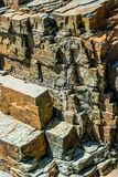 Piękna tekstura gliniani kamienie zdjęcie royalty free