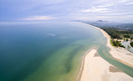 Piękna Terengganu plaża zdjęcia royalty free