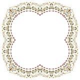 Piękna textured granicy rama Zdjęcia Royalty Free