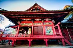 Piękna tradycyjna świątynia przy Tokio, Japonia fotografia stock
