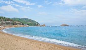 Piękna tropikalna plaża Zdjęcia Royalty Free