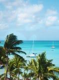 Piękna tropikalna plaża Obrazy Stock
