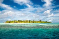 Piękna tropikalna wyspa obrazy royalty free
