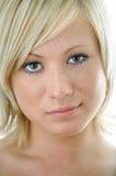 piękna twarz kobiety obrazy stock