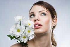 piękna twarzy portreta kobieta zdjęcie royalty free