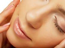 piękna twarzy zdrowie kobieta fotografia stock