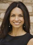 Piękna uśmiechnięta biznesowa kobieta Obraz Stock