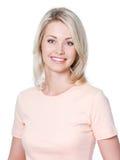 piękna uśmiechnięta kobieta fotografia stock