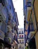 Piękna ulica w centrum miasta Walencja fotografia royalty free