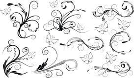 Piękna wektorowy rysunkowy tło Obrazy Royalty Free