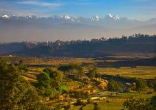 piękna wieś Obraz Royalty Free