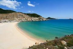 Piękna Wietnam krajobrazu, zadziwiającej i cudownej plaża z mo, Fotografia Royalty Free