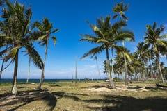 Piękna wioska w Terengganu, Malezja blisko plażowego surroun Zdjęcia Royalty Free
