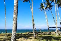 Piękna wioska w Terengganu, Malezja blisko plażowego surroun Obraz Royalty Free