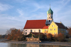 Piękna wioska Wasserburg obrazy stock