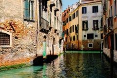 Piękna wiosna Wenecja i swój kanały Fotografia Stock