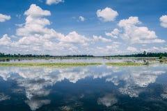 Piękna woda w Kambodża w Azja Południowo-Wschodnia obraz royalty free