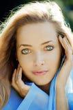 piękna wodna kobieta zdjęcie royalty free