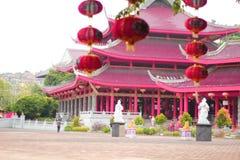 Piękna Wspaniała świątynia przy Semarang Indonezja Fotografia Royalty Free