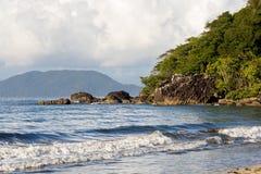 Piękna wymarzona raj plaża, Madagascar Obraz Stock