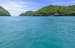 piękna wyspa Zdjęcie Stock