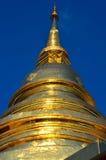 piękna złota pagoda obraz stock