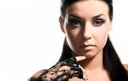 piękna zbliżenia twarzy kobieta zdjęcia royalty free