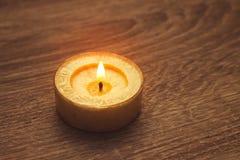 Piękna zdrój świeczka Obrazy Stock