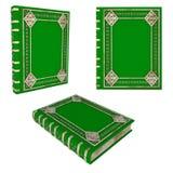Piękna zieleni książka zdjęcia stock