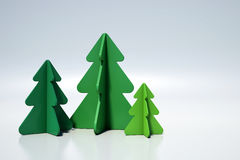 piękne Święta drzew ilustracyjni położenie Fotografia Royalty Free