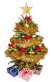 piękne święta pojedynczy drzewo Zdjęcia Royalty Free