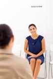 Kobieta akcydensowy wywiad Obraz Stock
