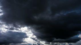 Piękne czasu upływu burzy chmury, chmury, niebo przed burzą zbiory