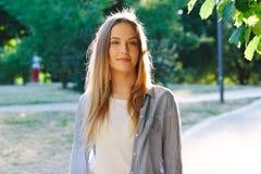 piękne długie włosy Zdjęcie Stock