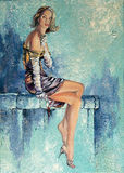 piękne dziewczyny papierosów szkła Fotografia Stock