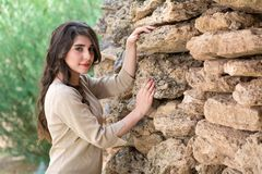 piękne dziewczyny portret young fotografia royalty free