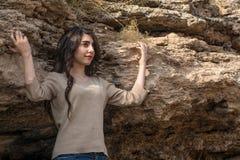 piękne dziewczyny portret young zdjęcie stock